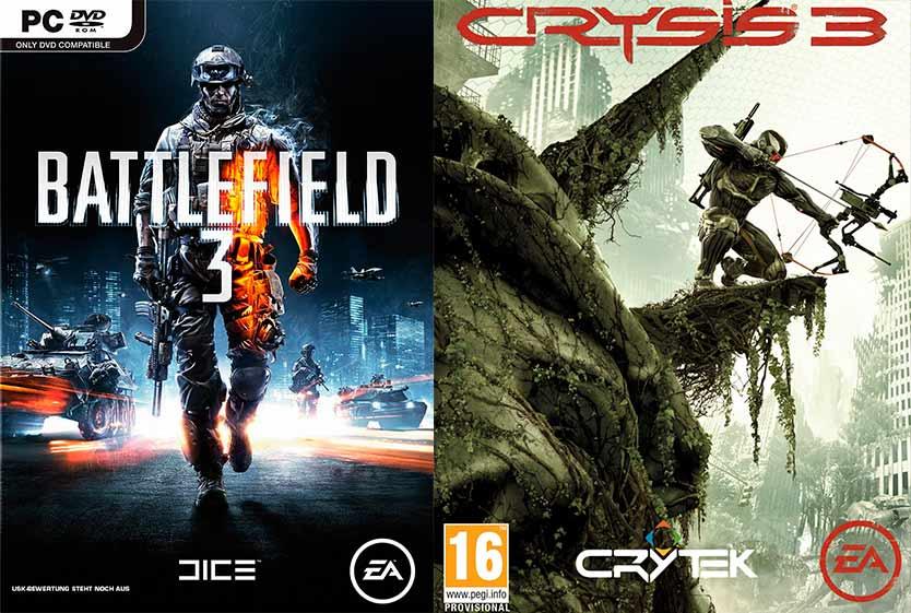 Battlefield 3 VersuS Crysis 3